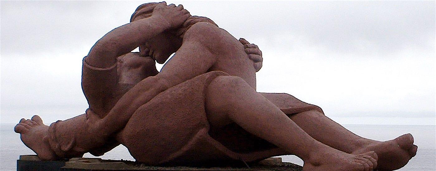 Paarskulptur Systemische Paartherapie